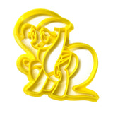 My Little Pony Friendship is Magic Fluttershy v2 Cookie Cutter