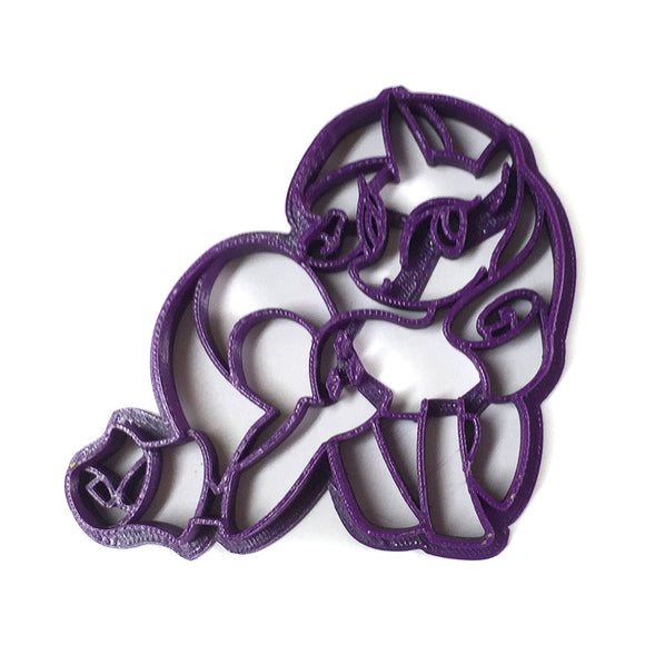 My Little Pony Friendship is Magic Rarity v2 Cookie Cutter