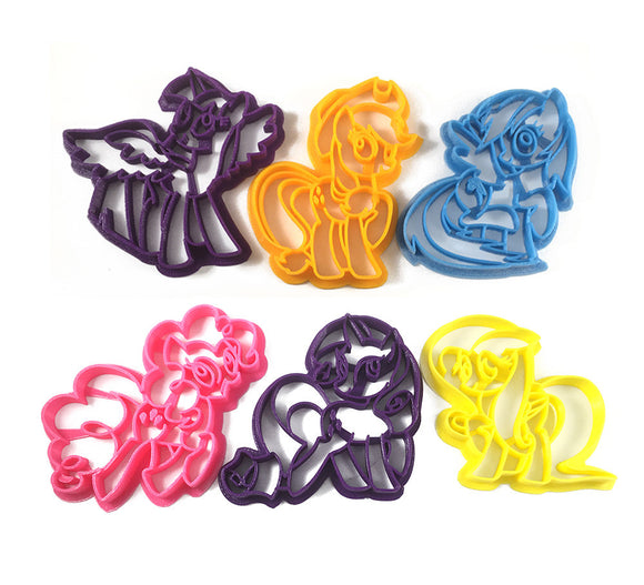 Mane Six Set 2 My Little Pony Set