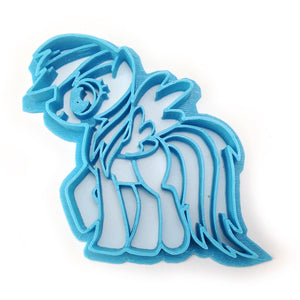 My Little Pony Rainbow Dash Cookie Cutter