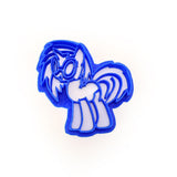My Little Pony DJ Scratch Cookie Cutter