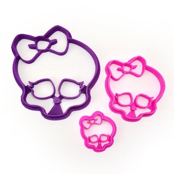 Monster High Skullette 3 Cutter Set