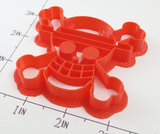 One Piece Luffy's Mugiwara Kaizoku Flag Cookie Cutter
