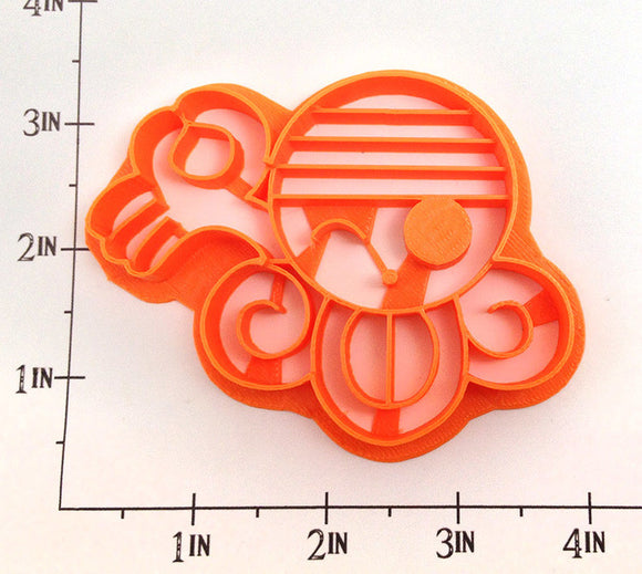 One Piece Nami's 'Dorobo-Neko' Kaizoku Flag Cookie Cutter