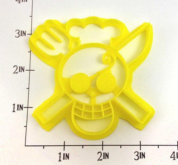 One Piece Sanji's Kaizoku Flag Cookie Cutter