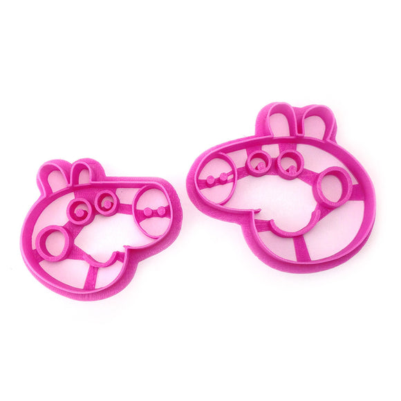 Peppa Pig and George Cookie Cutter Set