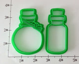 Potion Bottles Cookie Cutter Set