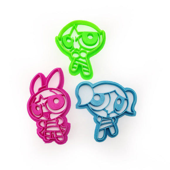 Powerpuff Girls Cookie Cutter Set