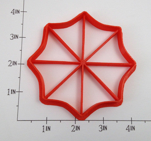 Resident Evil Umbrella Logo Cookie Cutter