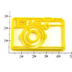 Retro Camera Cookie Cutter