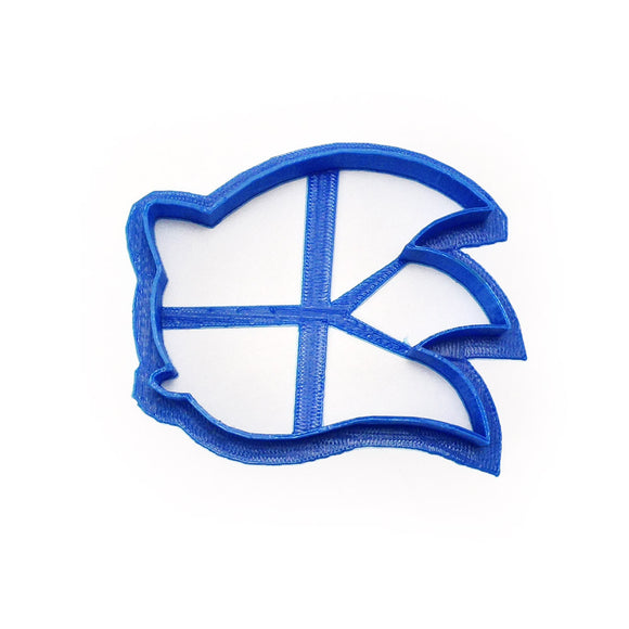 Sonic the Hedgehog head profile Cookie Cutter