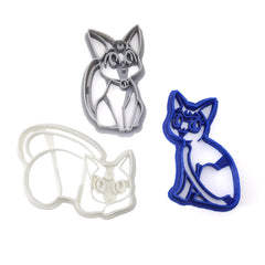 Sailor Moon Cat Family Cookie Cutter Set - Luna Artemis and Diana