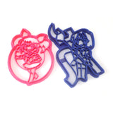 Sailor Moon Chibi Moon and Sailor Saturn Cookie Cutter Set