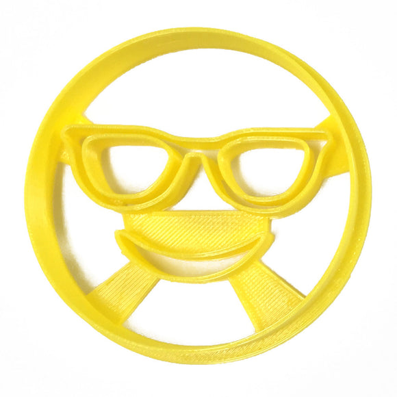 Emoji Sunglasses Cookie Cutter