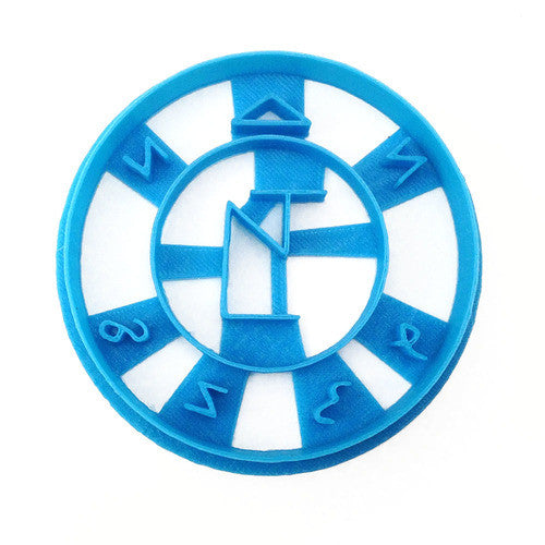 Supernatural Angel Banishment Sigil Cookie Cutter