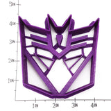 Transformers Autobot and Decepticon SANDWICH Cutter Set