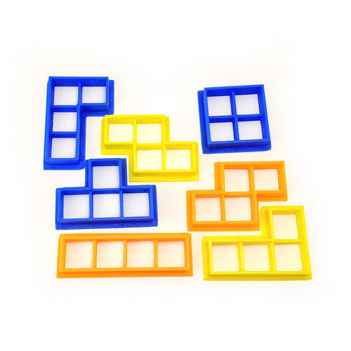 Tetris Blocks Cookie Cutter Set