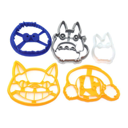 My Neighbor Totoro 5 Cookie Cutter Set