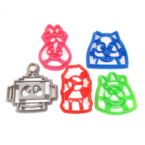 Yo Gabba Gabba Cookie Cutter Set