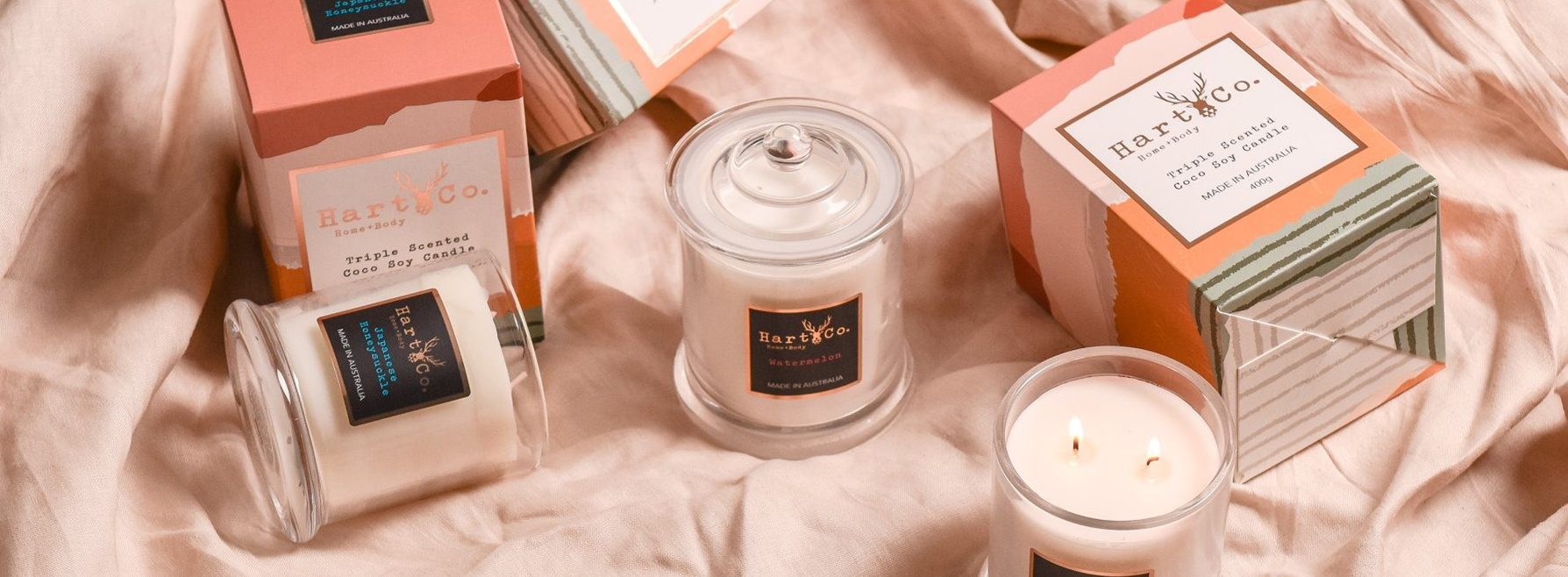 Scented Soy Candles & Reed Difusers