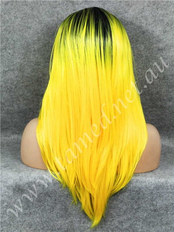 ELISE YELLOW - Tamed wigs and makeup - 2