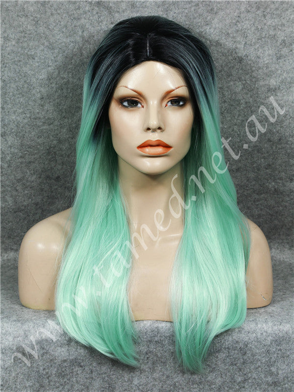 ELISE RETO MINT - Tamed wigs and makeup - 1