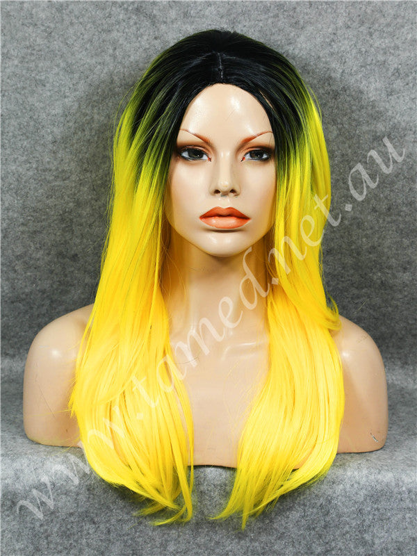 ELISE YELLOW - Tamed wigs and makeup - 1