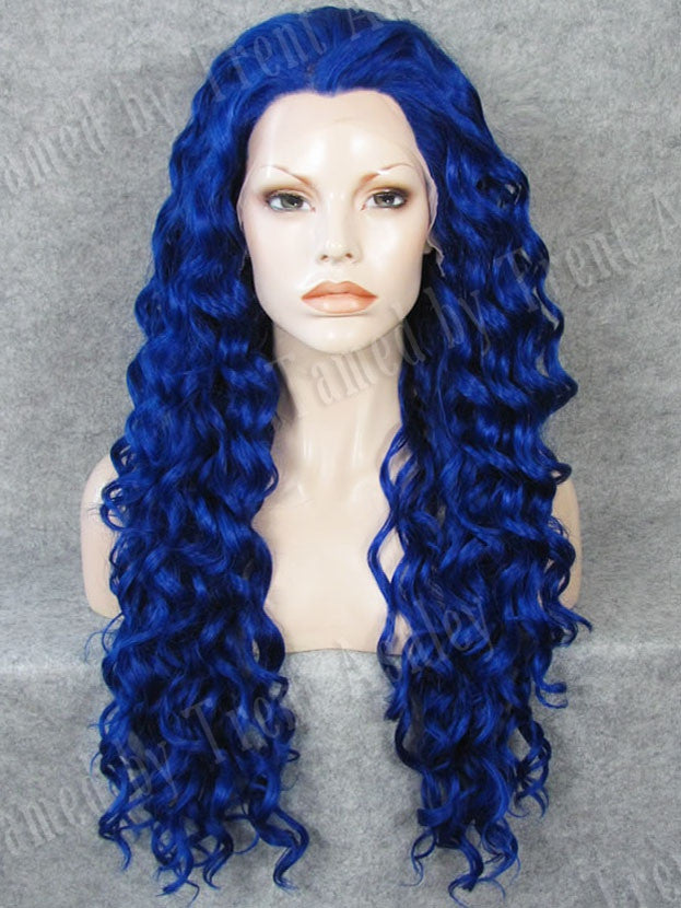DIANNA ELECTRIC BLUE - Tamed wigs and makeup