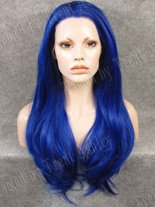 ALYSSA ELECTRIC BLUE - Tamed wigs and makeup