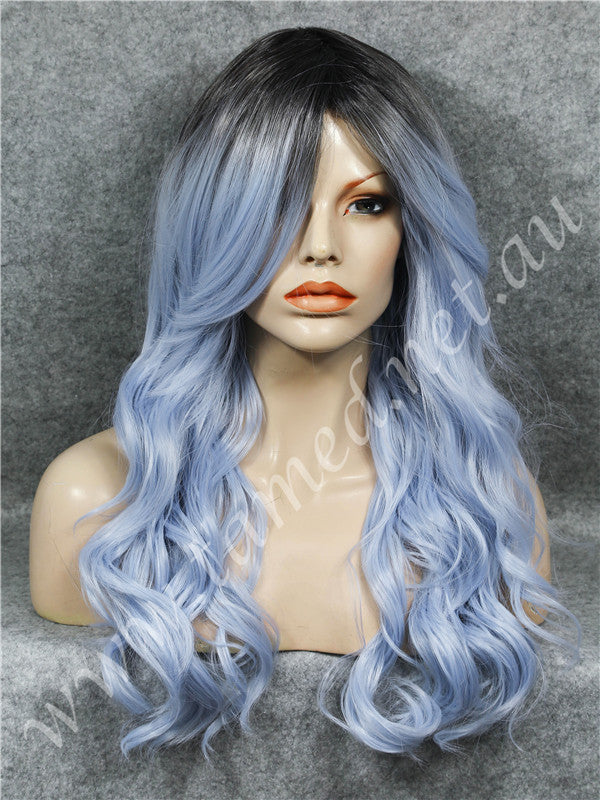 DELTA GLACIER BLUE - Tamed wigs and makeup - 1