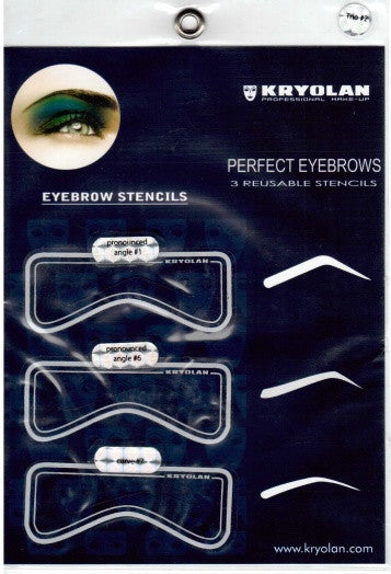 Eye Brow Stencil 3Set - Tamed wigs and makeup