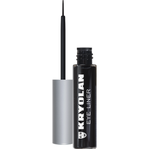 KRYOLAN LIQUID EYE LINER (BLACK) - Tamed wigs and makeup