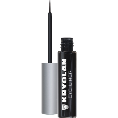 KRYOLAN LIQUID EYE LINER (BLACK)