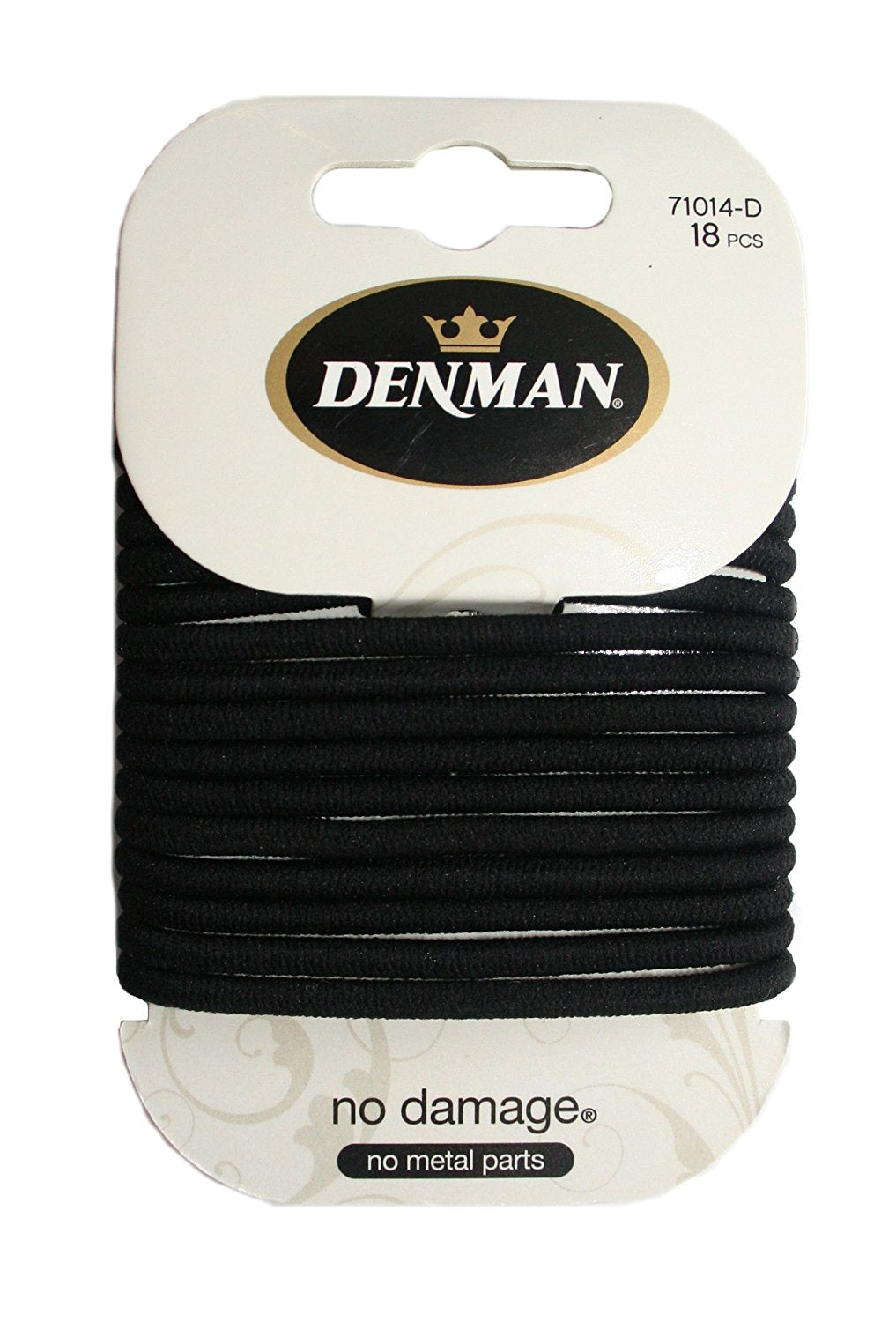 DENMAN NO DAMAGE ELASTIC 4MM BLACK (18)