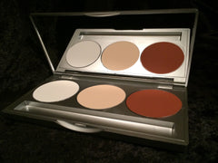 KRYOLAN COMBI 3 (CONTOUR/HIGHLIGHT PALETTE) - Tamed wigs and makeup