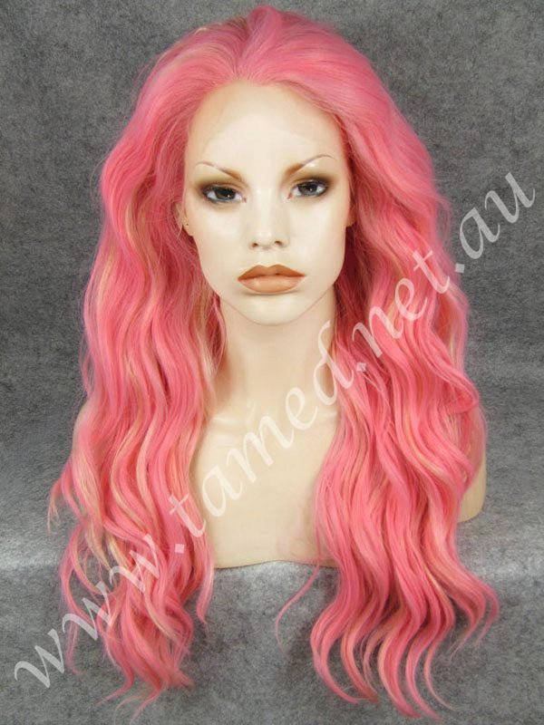 HEIDI DIRTY PINK - Tamed wigs and makeup - 1