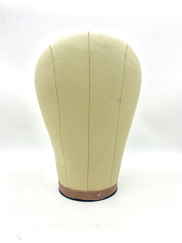 CORK CANVAS PROFESSIONAL WIG BLOCK