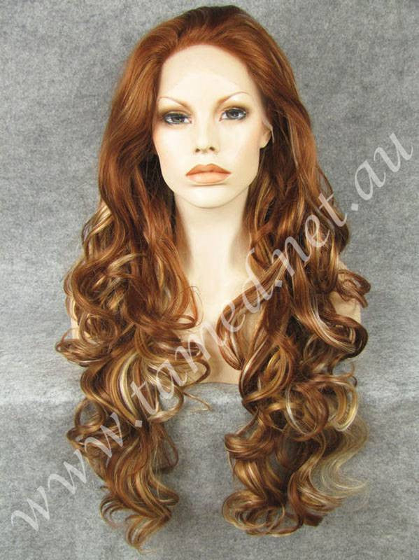 KIM CINNAMON - Tamed wigs and makeup - 1