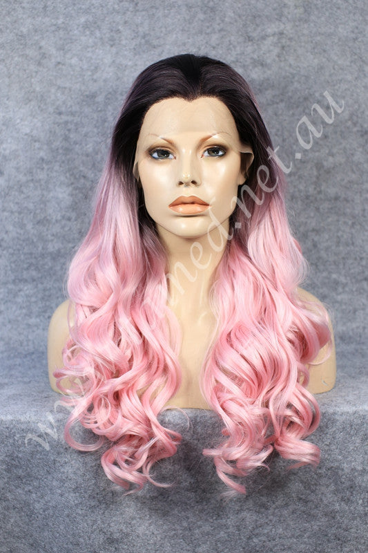 NICCI PINK OMBRE - Tamed wigs and makeup - 1