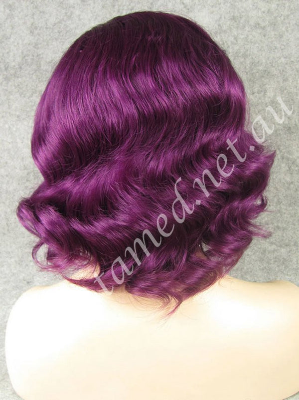 ZIVA DEEP PLUM - Tamed wigs and makeup - 2