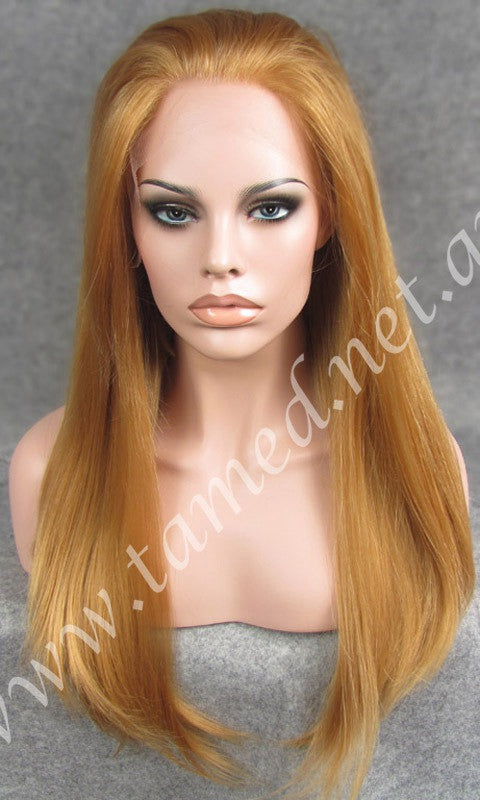 ALYSSA STRAWBERRY BLONDE - Tamed wigs and makeup - 1