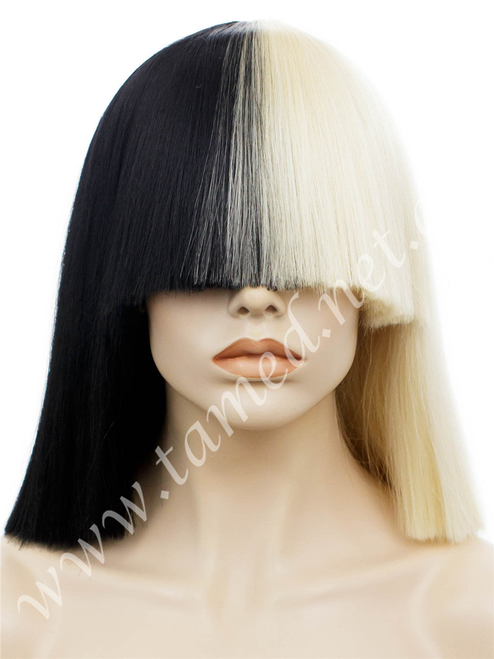 SIA - Tamed wigs and makeup - 1