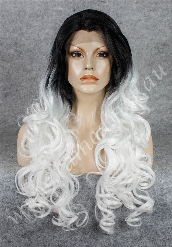 KIM BLACK ICE - Tamed wigs and makeup - 1