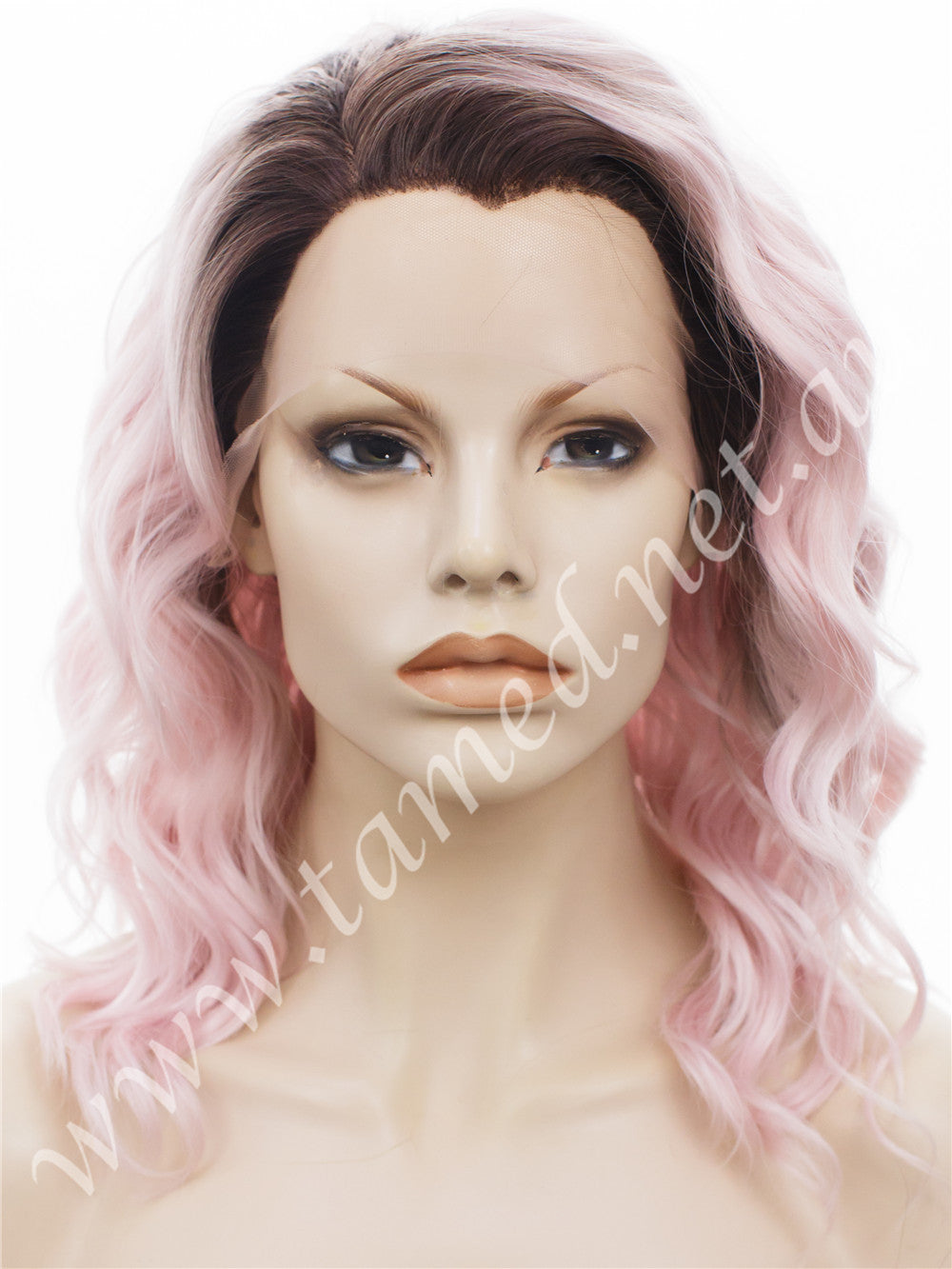 CARRIE DUSTY PINK - Tamed wigs and makeup - 1