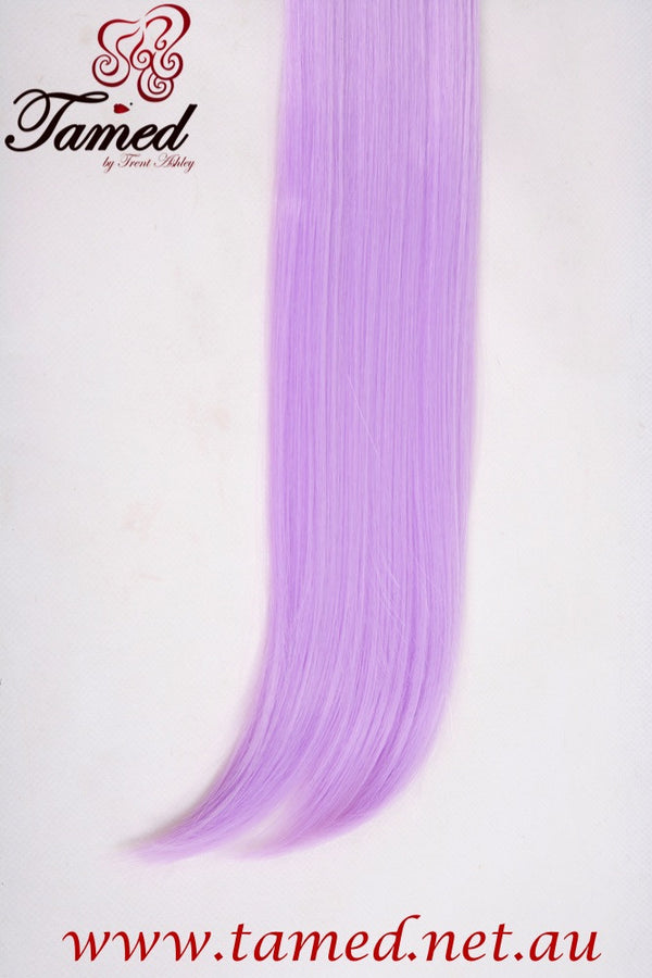 PASTEL PURPLE - DELUXE SYNTHETIC WEFT - Tamed wigs and makeup
