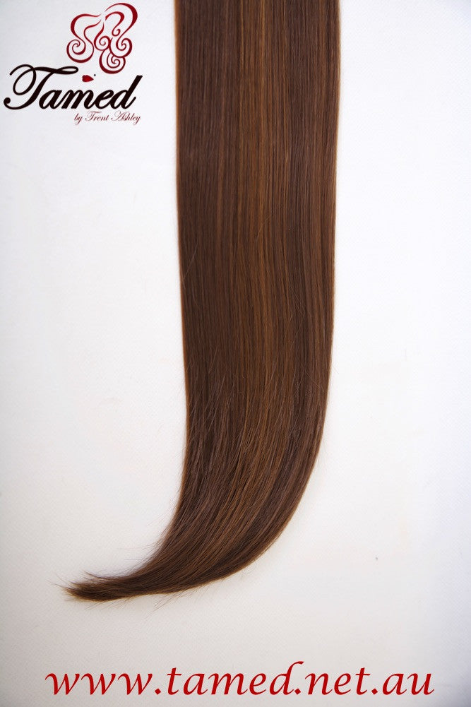 HIGHLIGHTED BROWN - DELUXE SYNTHETIC WEFT