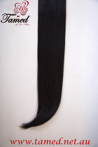 BLACK - DELUXE SYNTHETIC WEFT
