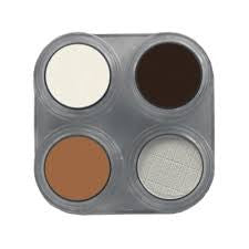 GRIMAS  CUSTOM 4 EYESHADOW BUNDLE (with tray)
