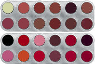 GRIMAS LIPSTICK PALETTE 24 LK (LF+LB) - Tamed wigs and makeup