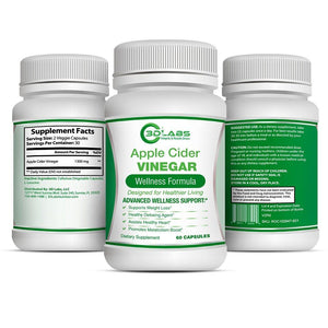 3D Labs Nutrition: Apple Cider Vinegar Capsules